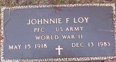 LOY (VETERAN WWII), JOHNNIE F - White County, Arkansas | JOHNNIE F LOY (VETERAN WWII) - Arkansas Gravestone Photos