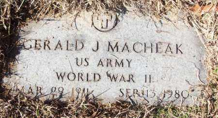 MACHEAK (VETERAN WWII), GERALD J - White County, Arkansas | GERALD J MACHEAK (VETERAN WWII) - Arkansas Gravestone Photos