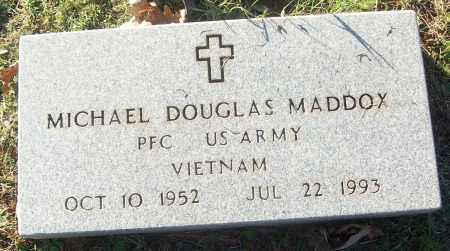 MADDOX (VETERAN VIET), MICHAEL DOUGLAS - White County, Arkansas | MICHAEL DOUGLAS MADDOX (VETERAN VIET) - Arkansas Gravestone Photos