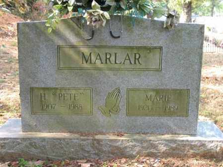 "MARLAR, H ""PETE"" - White County, Arkansas 