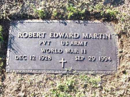 MARTIN  (VETERAN WWII), ROBERT EDWARD - White County, Arkansas | ROBERT EDWARD MARTIN  (VETERAN WWII) - Arkansas Gravestone Photos
