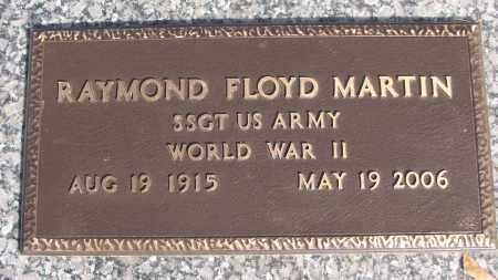 MARTIN (VETERAN WWII), RAYMOND FLOYD - White County, Arkansas | RAYMOND FLOYD MARTIN (VETERAN WWII) - Arkansas Gravestone Photos