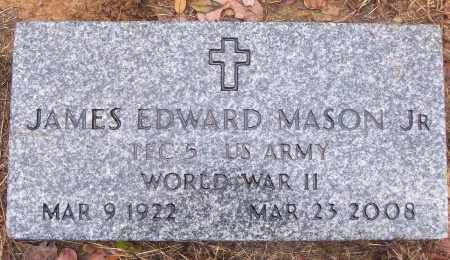 MASON, JR (VETERAN WWII), JAMES EDWARD - White County, Arkansas | JAMES EDWARD MASON, JR (VETERAN WWII) - Arkansas Gravestone Photos