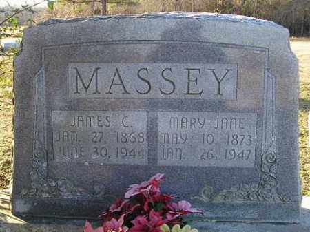 MASSEY, JAMES C - White County, Arkansas | JAMES C MASSEY - Arkansas Gravestone Photos