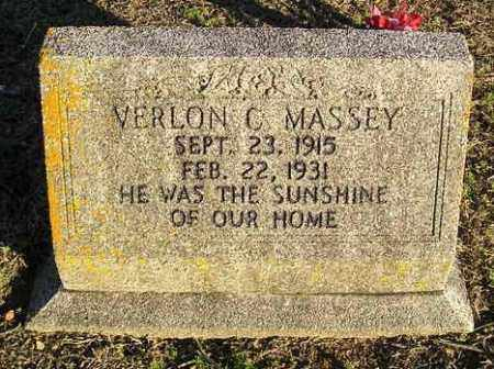 MASSEY, VERLON C - White County, Arkansas | VERLON C MASSEY - Arkansas Gravestone Photos