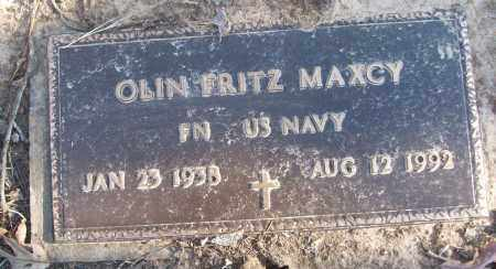 MAXCY (VETERAN), OLIN FRITZ - White County, Arkansas | OLIN FRITZ MAXCY (VETERAN) - Arkansas Gravestone Photos