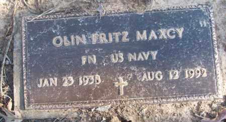 MAXCY (VETERAN), OLIN FRITZ - White County, Arkansas | OLIN FRITZ MAXCY (VETERAN) - Arkansas Gravestone Photos