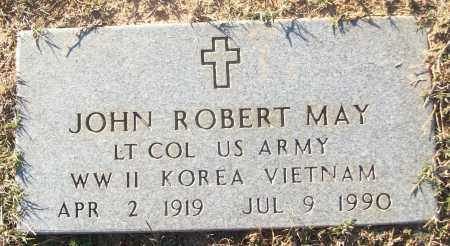 MAY (VETERAN 3 WARS), JOHN ROBERT - White County, Arkansas | JOHN ROBERT MAY (VETERAN 3 WARS) - Arkansas Gravestone Photos