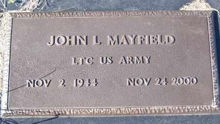 MAYFIELD (VETERAN), JOHN L - White County, Arkansas | JOHN L MAYFIELD (VETERAN) - Arkansas Gravestone Photos