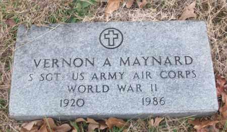 MAYNARD (VETERAN WWII), VERNON A - White County, Arkansas | VERNON A MAYNARD (VETERAN WWII) - Arkansas Gravestone Photos