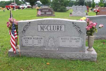 CAMP MCCLURE, MYRTLE FRANCES - White County, Arkansas | MYRTLE FRANCES CAMP MCCLURE - Arkansas Gravestone Photos