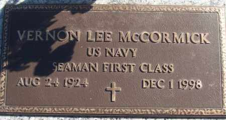 MCCORMICK (VETERAN), VERNON LEE - White County, Arkansas | VERNON LEE MCCORMICK (VETERAN) - Arkansas Gravestone Photos