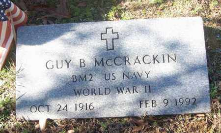 MCCRACKIN  (VETERAN WWII), GUY B. - White County, Arkansas | GUY B. MCCRACKIN  (VETERAN WWII) - Arkansas Gravestone Photos