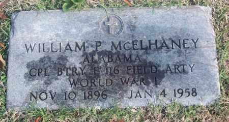 MCELHANEY  (VETERAN WWI), WILLIAM P. - White County, Arkansas | WILLIAM P. MCELHANEY  (VETERAN WWI) - Arkansas Gravestone Photos
