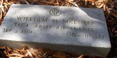 MCEUEN  (VETERAN), WILLIAM H - White County, Arkansas | WILLIAM H MCEUEN  (VETERAN) - Arkansas Gravestone Photos