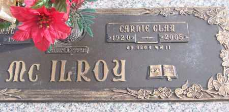 MCILROY (VETERAN WWII), CARNIE CLAY - White County, Arkansas | CARNIE CLAY MCILROY (VETERAN WWII) - Arkansas Gravestone Photos