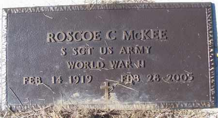 MCKEE (VETERAN WWII), ROSCOE C - White County, Arkansas | ROSCOE C MCKEE (VETERAN WWII) - Arkansas Gravestone Photos