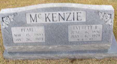 MCKENZIE  (VETERAN WWII), EVERETT R - White County, Arkansas | EVERETT R MCKENZIE  (VETERAN WWII) - Arkansas Gravestone Photos