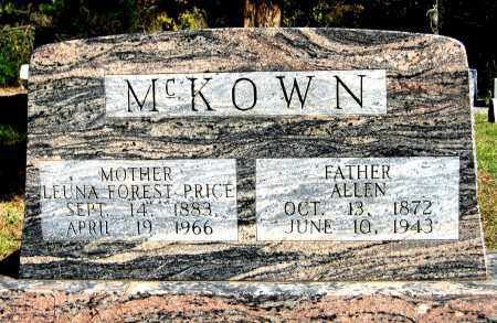 MCKOWN, LEUNA FOREST - White County, Arkansas | LEUNA FOREST MCKOWN - Arkansas Gravestone Photos