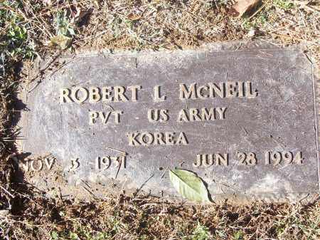 MCNEIL (VETERAN KOR), ROBERT L - White County, Arkansas | ROBERT L MCNEIL (VETERAN KOR) - Arkansas Gravestone Photos