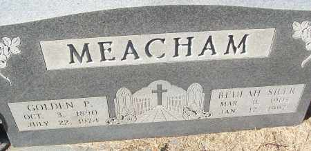MEACHAM, GOLDEN P. - White County, Arkansas | GOLDEN P. MEACHAM - Arkansas Gravestone Photos
