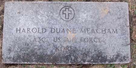 MEACHAM (VETERAN KOR), HAROLD DUANE - White County, Arkansas | HAROLD DUANE MEACHAM (VETERAN KOR) - Arkansas Gravestone Photos