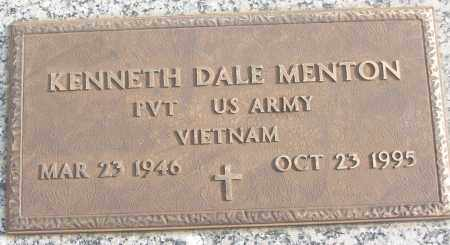 MENTON (VETERAN VIET), KENNETH DALE - White County, Arkansas | KENNETH DALE MENTON (VETERAN VIET) - Arkansas Gravestone Photos