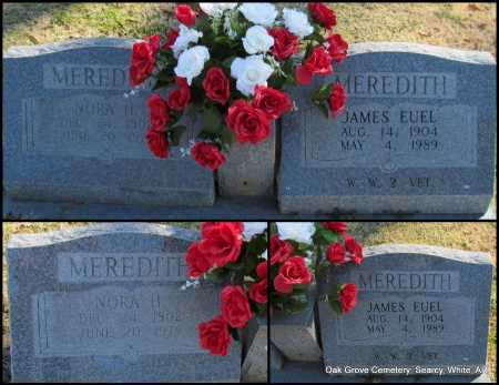 MEREDITH  (VETERAN WWII), JAMES EUEL - White County, Arkansas | JAMES EUEL MEREDITH  (VETERAN WWII) - Arkansas Gravestone Photos