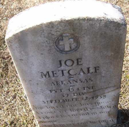 METCALF (VETERAN), JOE - White County, Arkansas | JOE METCALF (VETERAN) - Arkansas Gravestone Photos