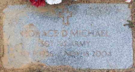 MICHAEL (VETERAN), HORACE D - White County, Arkansas | HORACE D MICHAEL (VETERAN) - Arkansas Gravestone Photos
