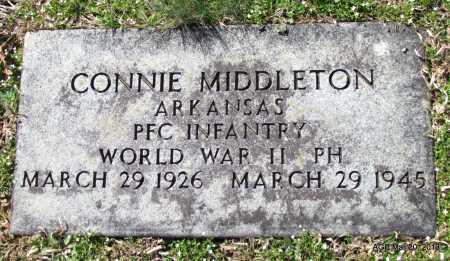 MIDDLETON (VETERAN WWII), CONNIE - White County, Arkansas   CONNIE MIDDLETON (VETERAN WWII) - Arkansas Gravestone Photos