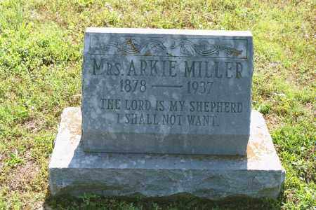 "MILLER, LYDIA ARKANSAS ""ARKIE"" - White County, Arkansas 