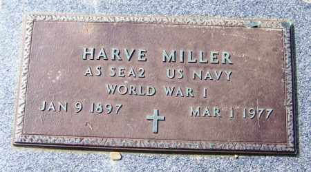 MILLER (VETERAN WWII), HARVE - White County, Arkansas | HARVE MILLER (VETERAN WWII) - Arkansas Gravestone Photos