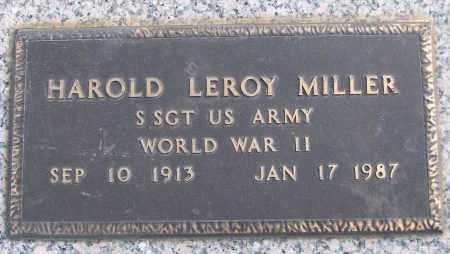 MILLER (VETERAN WWII), HAROLD LEROY - White County, Arkansas | HAROLD LEROY MILLER (VETERAN WWII) - Arkansas Gravestone Photos
