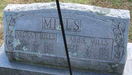 MILLS, ARDRA P - White County, Arkansas | ARDRA P MILLS - Arkansas Gravestone Photos