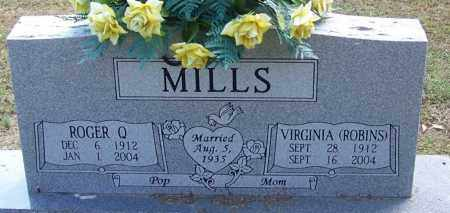 ROBINS MILLS, VIRGINIA - White County, Arkansas | VIRGINIA ROBINS MILLS - Arkansas Gravestone Photos