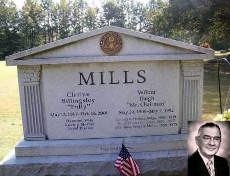 MILLS (FAMOUS), WILBUR DAIGH - White County, Arkansas | WILBUR DAIGH MILLS (FAMOUS) - Arkansas Gravestone Photos