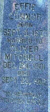 MITCHELL  2, EFFIE - White County, Arkansas | EFFIE MITCHELL  2 - Arkansas Gravestone Photos