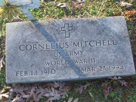 MITCHELL (VETERAN WWII), CORNELIUS - White County, Arkansas | CORNELIUS MITCHELL (VETERAN WWII) - Arkansas Gravestone Photos