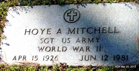 MITCHELL (VETERAN WWII), HOYE A - White County, Arkansas | HOYE A MITCHELL (VETERAN WWII) - Arkansas Gravestone Photos