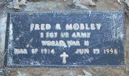 MOBLEY (VETERAN WWII), FRED R - White County, Arkansas | FRED R MOBLEY (VETERAN WWII) - Arkansas Gravestone Photos