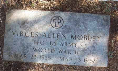 MOBLEY (VETERAN WWII), VIRGES ALLEN - White County, Arkansas | VIRGES ALLEN MOBLEY (VETERAN WWII) - Arkansas Gravestone Photos