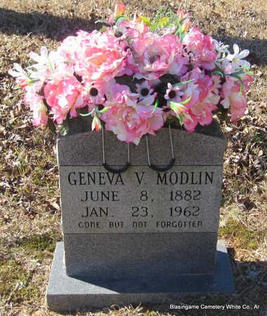 MODLIN, GENEVA - White County, Arkansas | GENEVA MODLIN - Arkansas Gravestone Photos