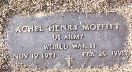 MOFFITT (VETERAN WWII), ACHEL HENRY - White County, Arkansas | ACHEL HENRY MOFFITT (VETERAN WWII) - Arkansas Gravestone Photos