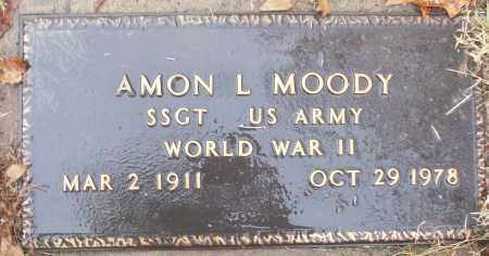MOODY (VETERAN WWII), AMON L - White County, Arkansas | AMON L MOODY (VETERAN WWII) - Arkansas Gravestone Photos