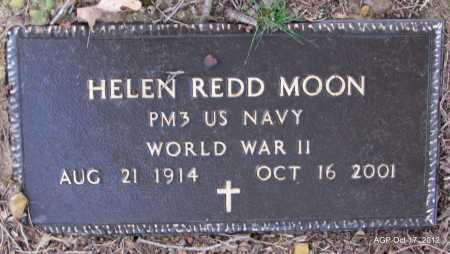 REDD MOON (VETERAN WWII), HELEN - White County, Arkansas | HELEN REDD MOON (VETERAN WWII) - Arkansas Gravestone Photos