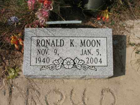 MOON, RONALD K - White County, Arkansas | RONALD K MOON - Arkansas Gravestone Photos