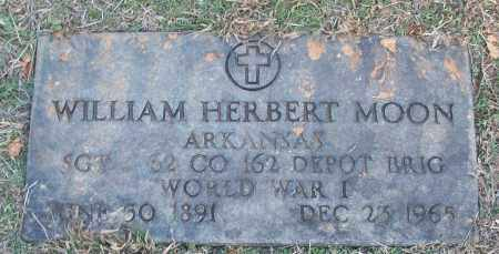 MOON (VETERAN WWI), WILLIAM HERBERT - White County, Arkansas | WILLIAM HERBERT MOON (VETERAN WWI) - Arkansas Gravestone Photos