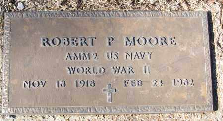 MOORE (VETERAN WWII), ROBERT P - White County, Arkansas | ROBERT P MOORE (VETERAN WWII) - Arkansas Gravestone Photos