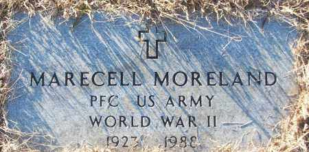MORELAND (VETERAN WWII), MARECELL - White County, Arkansas | MARECELL MORELAND (VETERAN WWII) - Arkansas Gravestone Photos